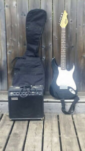 Like New Guitar, Amp and Case