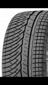 Quatres pneux 225/55/18 et 225/55/19 Michelin artic alpin
