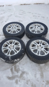4 All Season Tires C/W Rims