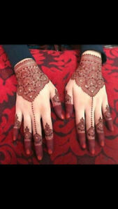 Henna Tattoos/Mehndi Application