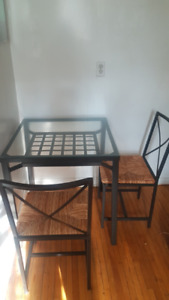 Ikea dining set for two, great condition