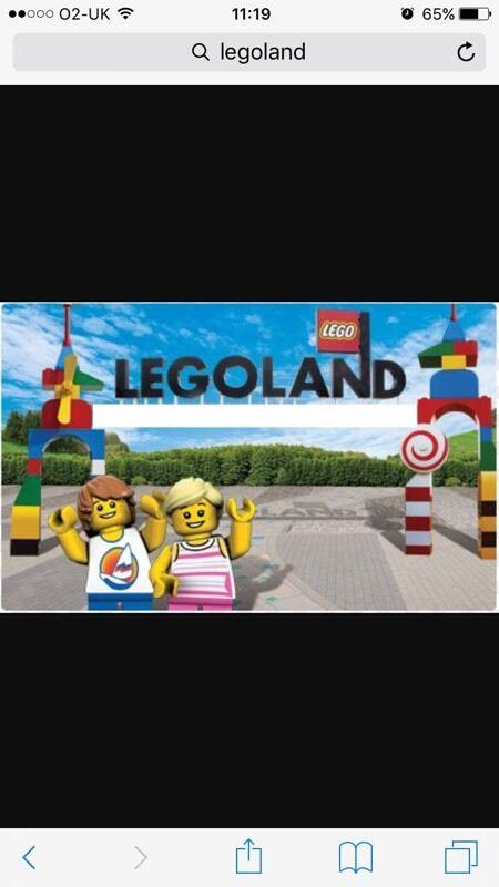 Legoland Windsor ticket X 2 Monday 24th October half term ...