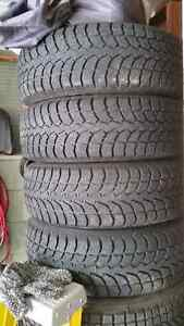 Ford Edge Winter Tires on Rims