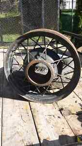 2 rims possibly model t or a