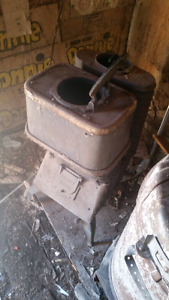2 Old wood stoves for $150