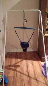 Jolly jumper with stand