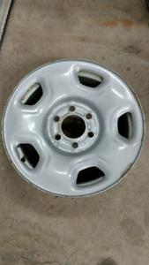 """4 x 17"""" Ford F150 steel wheels"""