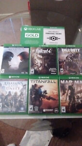Xbox One Games (With 14 day Xbox Gold Trial and Fallout 3 code)