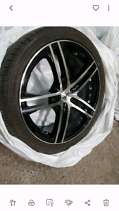 """18"""" Mags 5x114.3mm & Tires 225/40r18"""