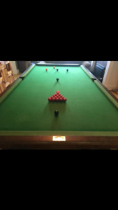 Pool table & poker table