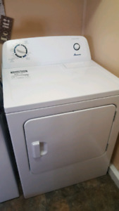 Amana washer and drier 10 months old