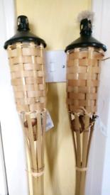 Garden oil lamps