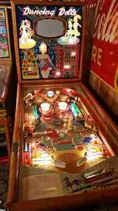 ANTIQUE WOODRAIL PINBALL MACHINES WANTED