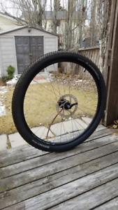 New Front 27.5 Inch Wheel (Quick Release, with Tire & Disc)