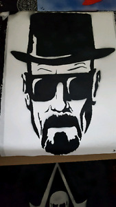 Breaking bad spray painting