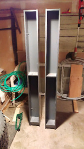 Pair of Ikea Billy Shelving Units