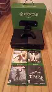 Xbox one 1 tb with controller and 3 games