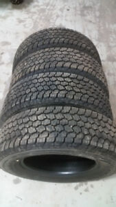 Brand New Tires - Goodyear Adventurer 245/70/17 Load Range E