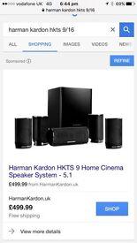 Harmon Kardon 5:1 with Yamaha Receiver