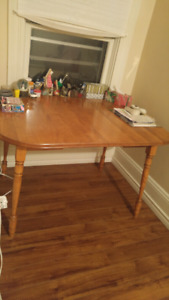 Dining table/no chairs $50 obo