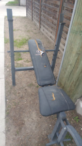 Free Weight Bench