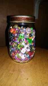 Jar of assorted beads Kitchener / Waterloo Kitchener Area image 1