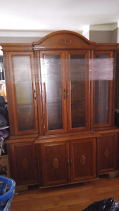 Large chin cabinet