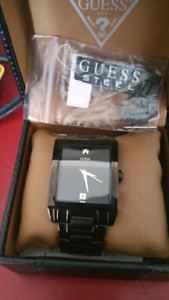 Guess watch new in box with receipt