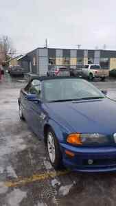 2000 Bmw 3 series soft top convertible