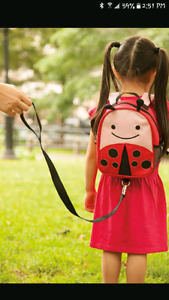 skip hop backpack with harness