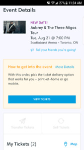 CHEAP Drake & Migos, August 21st @ Scotiabank Arena