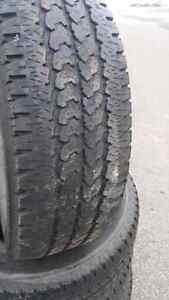 4  goodyear transforce all season tires  LT 245/70r17. London Ontario image 1