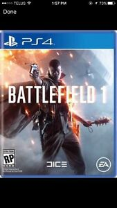 Wanted BF1 ps4