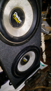 "12"" subwoofer clarion"