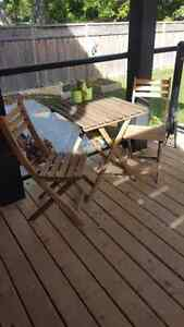IKEA Askholmen outdoor table and chairs