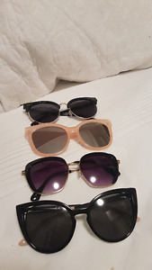 Sunglassess - 4 pairs