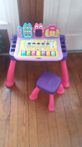 V-Tech Touch and Learn Activity Desk $30