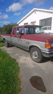 A Real Work Truck! 1989 Ford F-250 Pickup Truck Diesel for Trade