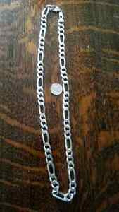 Heavy silver mens chain made in italy