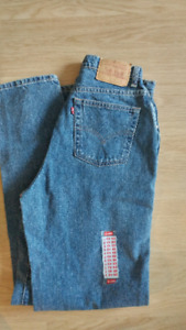 Vintage Levi's high waisted denim jeans