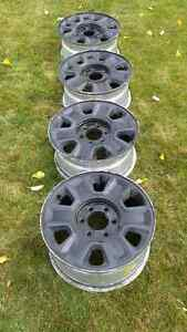Black Alloy Rims