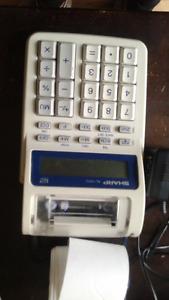 Calculatrice Sharp EL1701C - avec rouleaux de papier