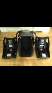 Great Deal!!! BRITAX Bob b-safe infant car seat with 2 bases