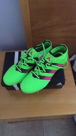 Adidas ace 16.3 solar green/Shock pink/core black (Mouldies)