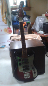 One electric guitar for sale