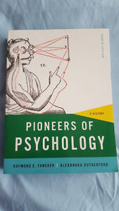 Pioneers of Psychology: A History 4th Edition