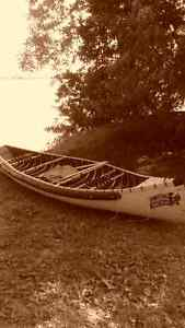 Good quality canoe; only used a few times,plus everything needed