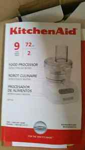 Kitchen Aid food processor 9 cup never taken out of box