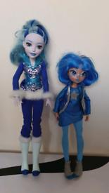 DC Super Hero Girls Action Doll FROST & Disney Star Darlings Vega doll