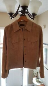 Danier Leather Ladies Suede Jacket